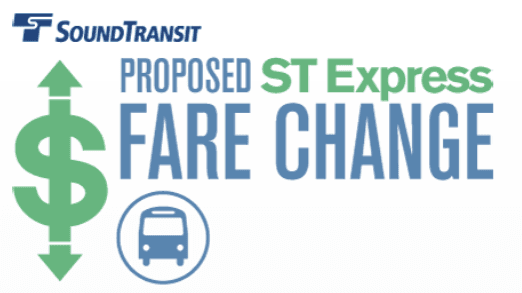 Proposed ST express fare change