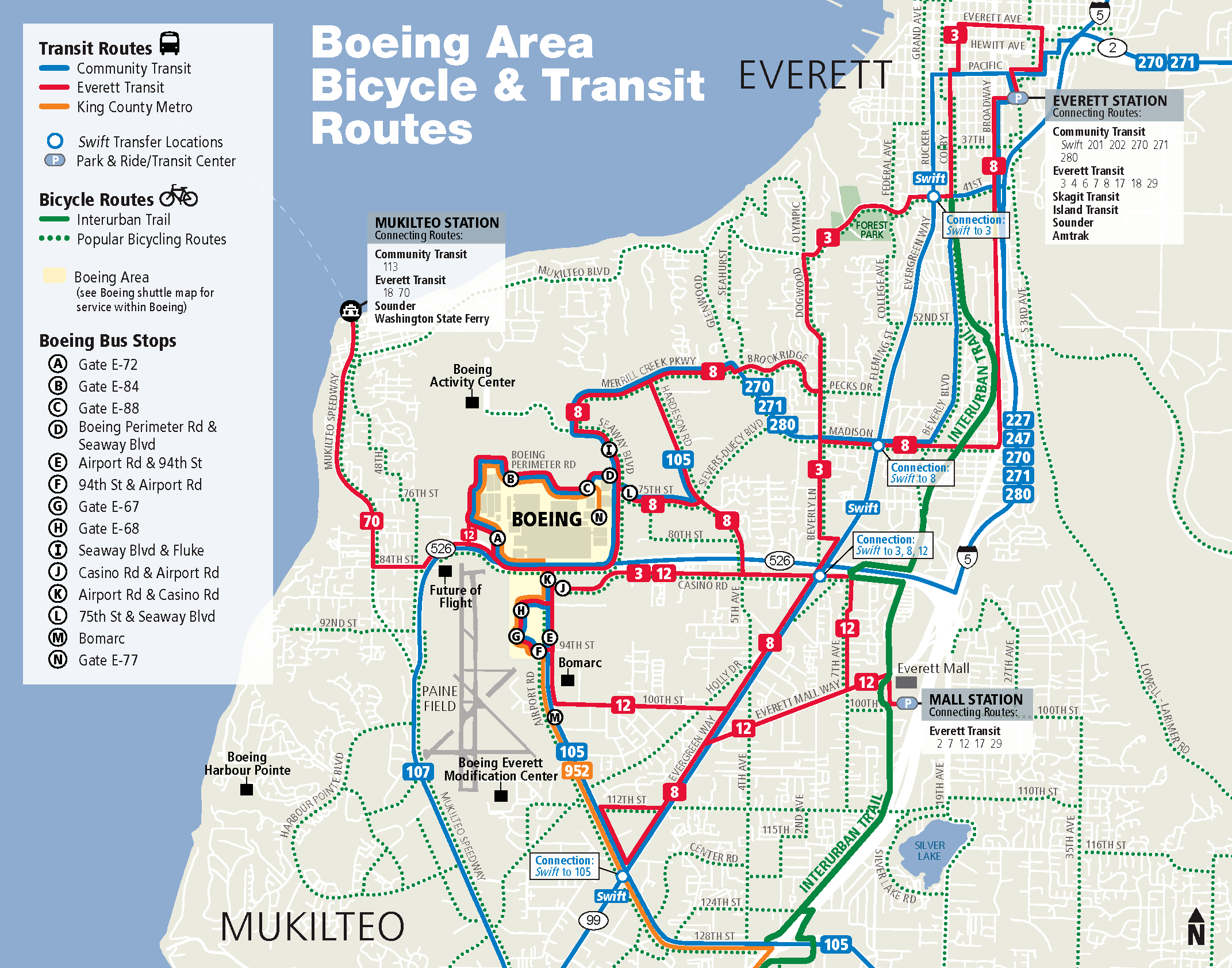 Going To Boeing Everett Everett Transit Wa Official Website