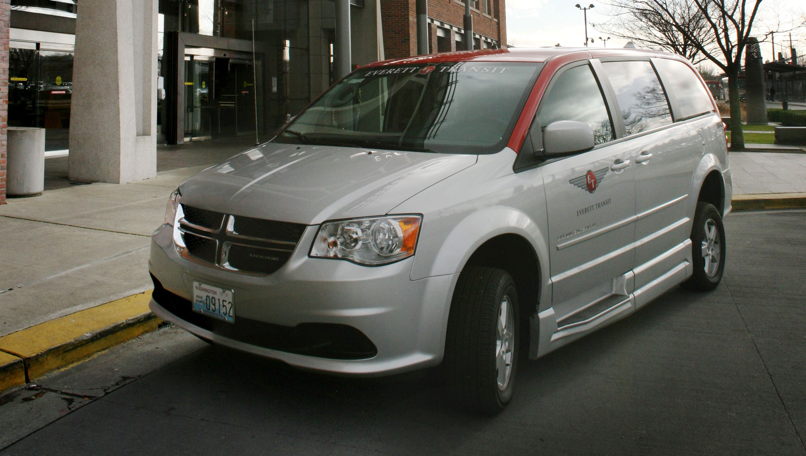 Chrysler paratransit van
